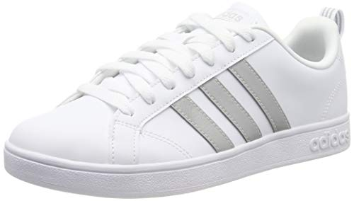 adidas Damen Vs Advantage Fitnessschuhe, Bianco