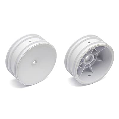 Team Associated 9690 2.2 Front Wheel with 12mm Hex, White (2): Toys & Games