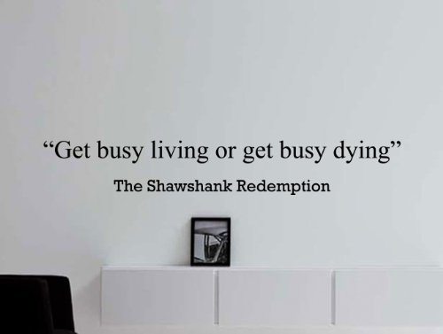 The Shawshank Redemption Motivational Business Quote Wall ...