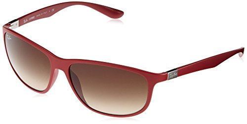 Ray Ban LiteForce Sunglasses - RB4213 612313 - Red/Brown - Ray Bans Sunglasses Red