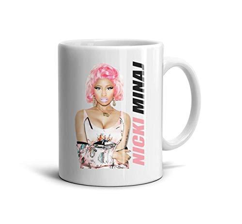 KmTGlory Nicki-Minaj-Poster-Promo-Poster Printing TeaMugs Cup Novelty Ceramic Mug