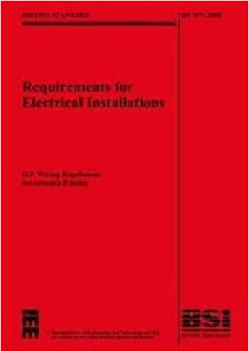 Fine Iee Wiring Regulations 17Th Edition Bs 7671 2008 With Bs7671 Wiring 101 Capemaxxcnl