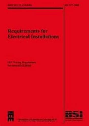 iee wiring regulations 17th edition bs 7671 2008 with bs7671 rh amazon co uk 17th edition wiring regs book 17th edition wiring regs mock exam