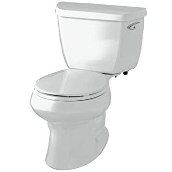 Kohler K 3653 Ur 95 Highline Classic Class Five Elongated Bowl Toilet With Insuliner Tank And Lock With Right Hand Trip Lever Ice Grey Amazon In Home Improvement