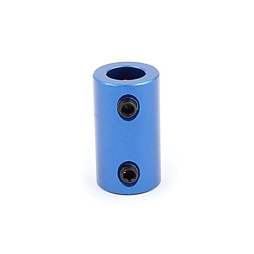 Uxcell a15113000ux1176 8mm to 8mm Aluminium Alloy DIY Motor Shaft Coupling Joint Connector for Electric Car Toy