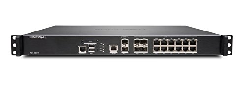 Price comparison product image SonicWall NSA 3600 TotalSecure Firewall Bundle - Includes NSA 3600 Appliance & 1 Year Comprehensive Gateway Security Suite