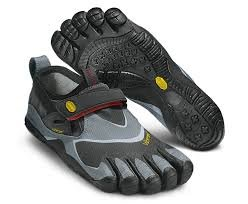 Vibram Five Fingers - Trek Pro (Herren) - Zehenschuhe - Black/Grey/Red Größe: 43