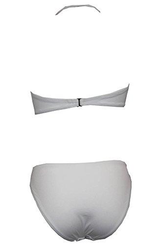 Tamari Beachwear Damen Bikini-Set Weiß Weiß Gr. 32, Weiß - Weiß