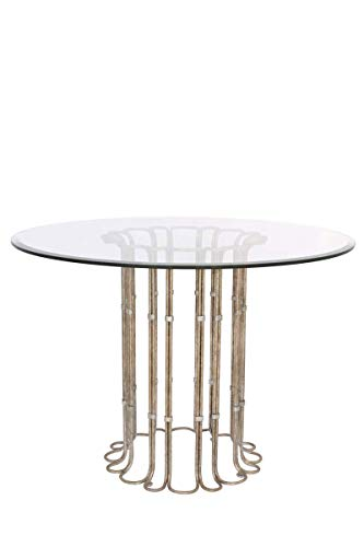 - Tables With Platinum Tone Color and Finish Decorative Home Accent for Dining 30 inch