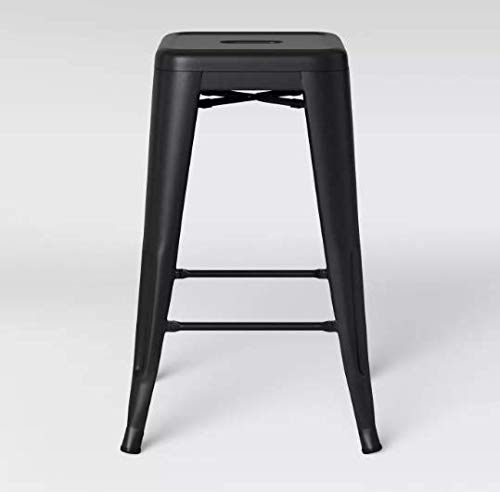 Brilliant Amazon Com Ace Bayou Carlisle 24 Inch Metal Counter Stool 2 Creativecarmelina Interior Chair Design Creativecarmelinacom
