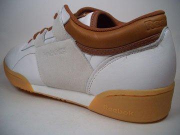 Reebok workout lo Whites de int Blanco de color marrón Indoor 2–