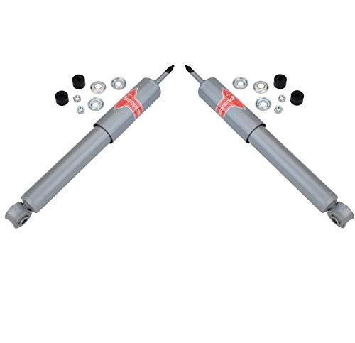 Pair Set of 2 Front KYB Gas-A-Just Shock Absorbers For Jaguar XJ XJ12 XJ6 XJS