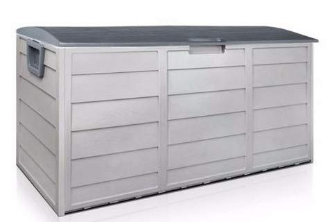 SKEMiDEX---Outdoor Patio Deck Box All Weather Large Storage Cabinet Container Organizer Idrack deck boxes are made of weather resistant, durable and are easy to assemble. With features like rollers