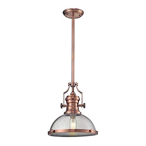 Elk Lighting 67743-1 Ceiling-Pendant-fixtures, Copper ()