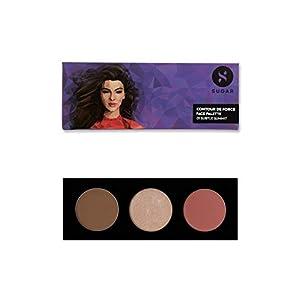 SUGAR Cosmetics Contour De Force Face Palette – 01 Subtle Summit