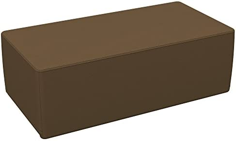 Powder Blue 4-Piece Set Furniture for Kids ECR4Kids Softzone Pie Ottoman Junior 12 H,