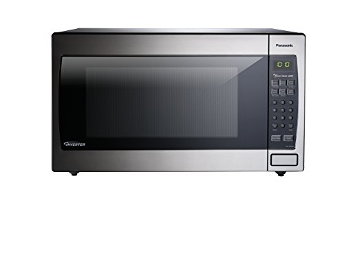 Panasonic NN-SN966S 2.2 Cu.Ft. 1250W Genius Sensor Countertop/Built-In Microwave Oven with Inverter Technology