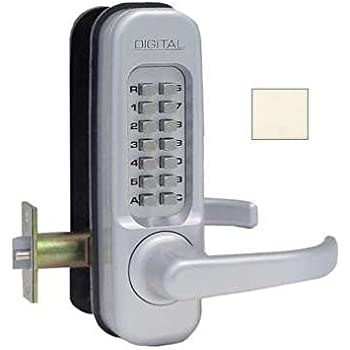 Lockey USA 1150MGDC  Mechanical Keyless Lever Lock, Zinc/Steel