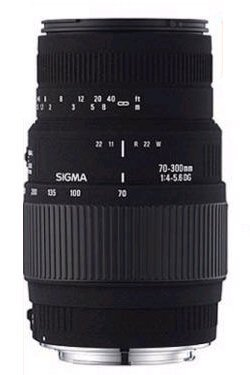 Sigma 70-300mm f/4-5.6 DG Macro Telephoto Zoom Lens for Minolta and Sony SLR Cameras (Sigma 35mm 1-4 Vs Nikon 35mm 1-4)