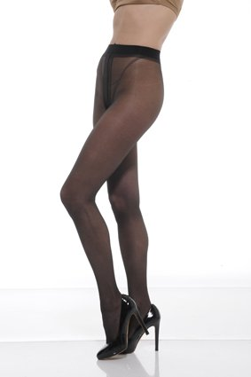 0c2762c1cd8 Mura Collant 2 Pairs Multipack - 20 Den All Sheer Tights With Panel ...