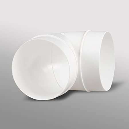 /marr/ón Blauberg Reino Unido Decor 185/x 185//150hk marr/ón 150/mm 15,24/cm conductos redondos de pl/ástico y accesorios para ventilador Extractor ventilaci/ón/