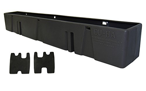 DU-HA Behind-the-Seat Storage Fits 00-07 Chevrolet/GMC Silverado/Sierra Heavy Duty Crew Cab, Black, Part #10013