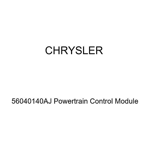 (Genuine Chrysler 56040140AJ Powertrain Control Module)