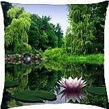 Waterlillies - Throw Pillow Cover Case (18