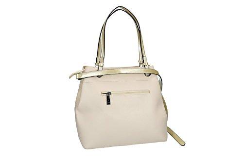 Tasche damen mit Schultergurt PIERRE CARDIN beige mit offnung zip VN1881 8wxPKM