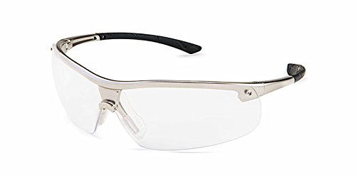 Gateway Safety 34GM79 Ingot Safety Glasses, Gunmetal Frame, Standard, Clear Anti-Fog Lens