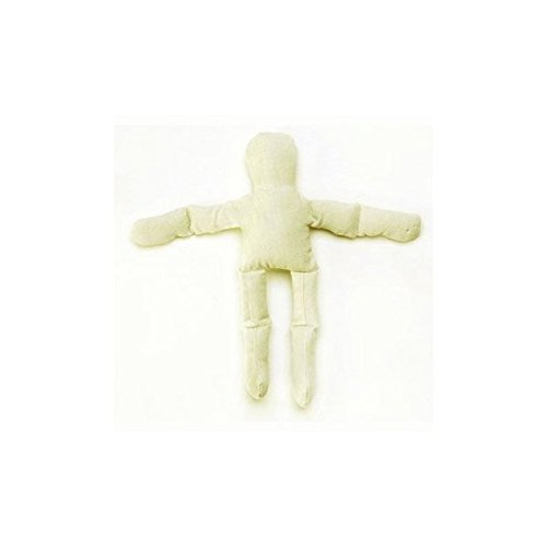 Bulk Buy: Darice DIY Crafts Muslin Doll Natural Color 8 inches (6-Pack) 1232-33 -