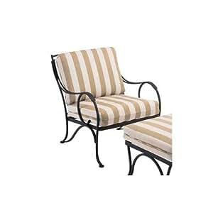 Amazon.com: Woodard 26 W006 Modesto Lounge silla asiento y ...