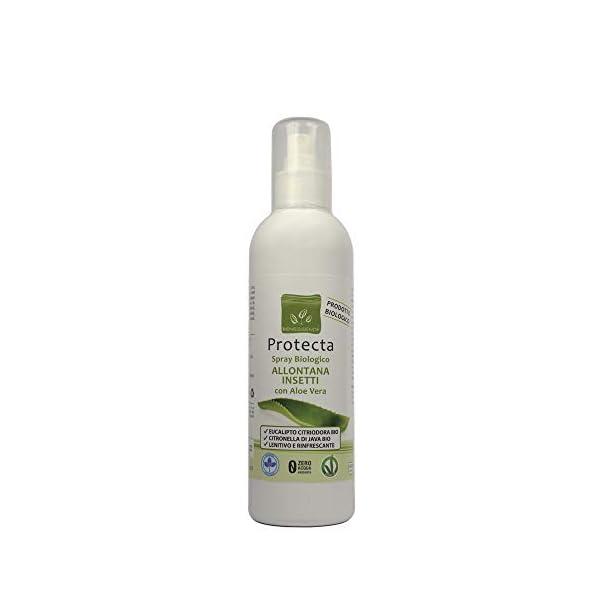 Benessence - Spray biologico Allontana Insetti e Zanzare con Aloe Vera - lenitivo da 250 ml 1 spesavip