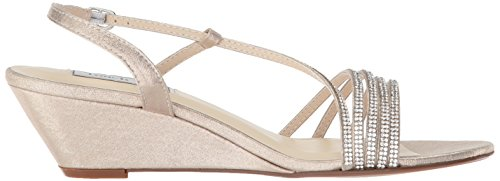 Champagne Celeste Women's Ups Touch Sandal Wedge w8EXAfxHq
