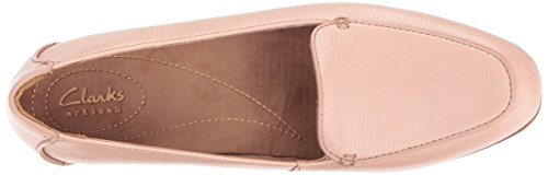 Clarks Women's Keesha Luca Slip-on Loafer, Dusty Pink Leather, 8.5 W US by CLARKS (Image #8)
