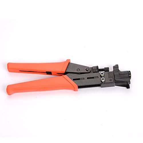 ❤️Ywoow❤️ Wire Stripper, RG59 / RG6 Coaxial Cable Crimper Extrusion F Head Extrusion Clamp Crimping Tool