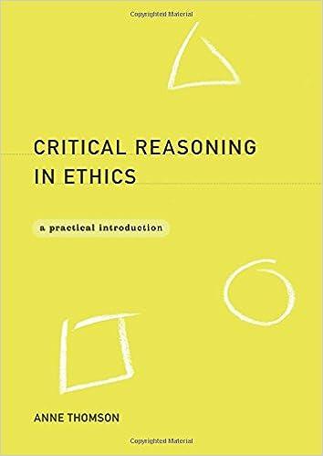 Reasoning in ethics?