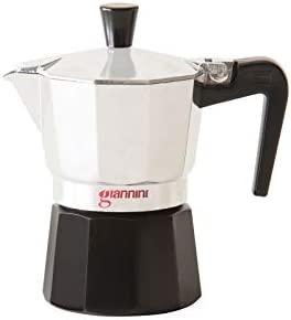 Giannini NE6481 Nina - Cafetera (1 taza, no tóxica), color negro ...