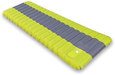 LABABE Sleeping Pad inflable con bomba incorporada. Colchón Inflable Esterilla de Acampada Hinchable Colchoneta de Aire Ergonómico Portátil ...