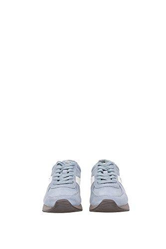 43F5ALFP2SDUSTYBLUE Michael Kors Sneakers Mujer Gamuza Celeste Celeste