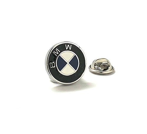 Williams and Clark Men's Executive Lapel Pin BMW Logo German Automobile Famous Car Lapel Pin Tie -