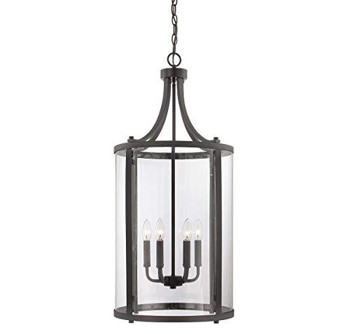 - Savoy House 7-1041-6-13, Penrose 6-Light Medium Foyer Lantern, English Bronze