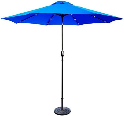 TechFaith Solar 32 LED Light Patio Umbrella