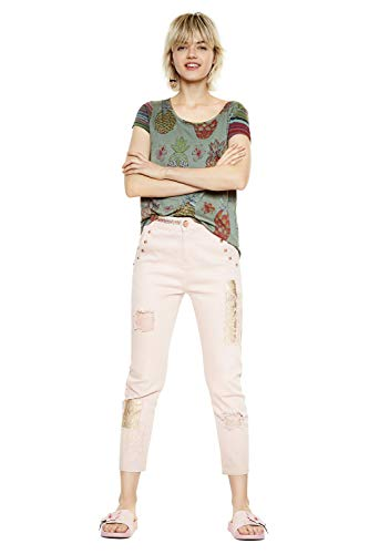 18swtkgz T Desigual shirt Camille Vert OdIBIrx