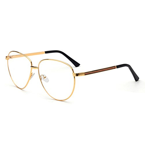 D.King Womens Fashion Oversized Round Eyeglasses Frame Clear Lens Eye Glasses - Costco Glasses Optical Frames