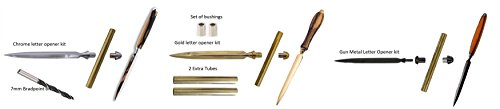 Letter Openers for the wood Turner (Complete Set) by JGS