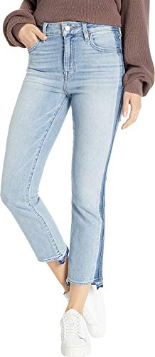 - Sanctuary Women's Modern High-Rise Crop Jeans with Indigo Shadow in Split Personality Split Personality 32 26