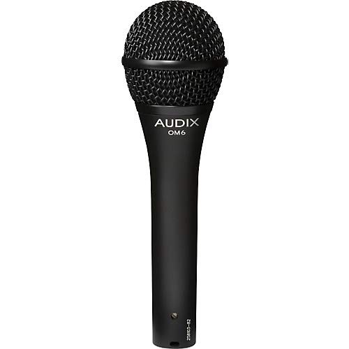 OM6 Dynamic Vocal Microphone (Dynamic Om6 Microphone Vocal Audix)