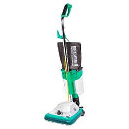 Bissell BigGreen Commercial BG101DC ProCup Comfort Grip Handle Upright Vacuum with Magnet, 870W, 12″ Vacuum Width