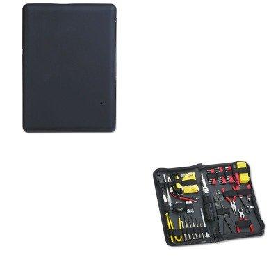 KITFEL49106VER97394 - Value Kit - Verbatim Titan XS Portable Hard Drive (VER97394) and Fellowes 55-Piece Computer Tool Kit in Black Vinyl Zipper Case (FEL49106)